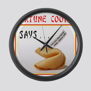FORTUNE COOKIE Large Wall Clock