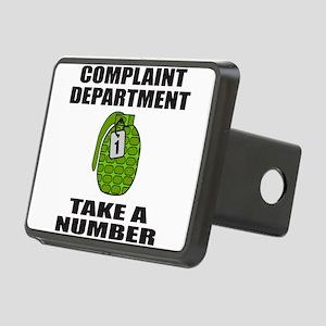 ComplaintDepartment Rectangular Hitch Cover