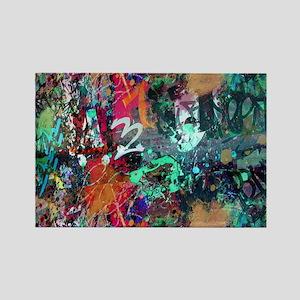 Graffiti and Paint Splatter Magnets