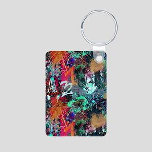 Graffiti and Paint Splatter Keychains
