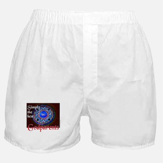 SimplyTheBestGodparentJournal.png Boxer Shorts