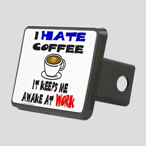 COFFEE Rectangular Hitch Cover