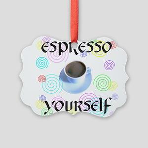 ESPRESSO YOURSELF Picture Ornament