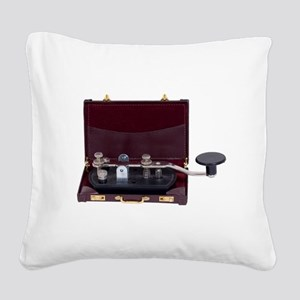 BusinessCommunication082609.p Square Canvas Pillow