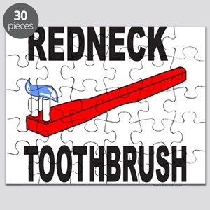 REDNECK TOOTHBRUSH Puzzle