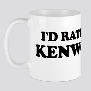 Rather: KENWOOD Mug