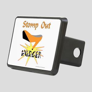 HUNGER AWARENESS Rectangular Hitch Cover