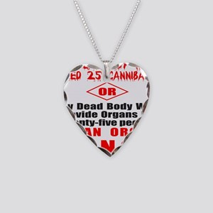 ORGAN DONOR Necklace Heart Charm