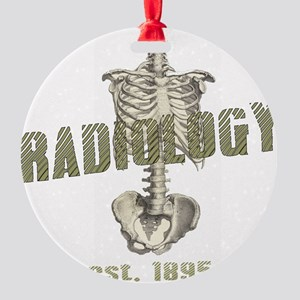 RADIOLOGY Round Ornament