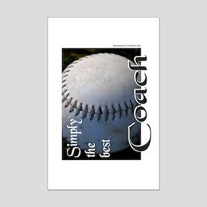 BASEBALL/SOFTBALL Mini Poster Print