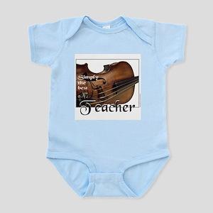 BEST TEACHER Infant Bodysuit