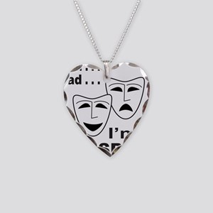 ACTOR/ACTRESS/THESPIAN Necklace Heart Charm