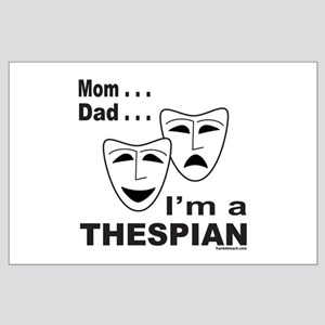 ACTOR/ACTRESS/THESPIAN Large Poster