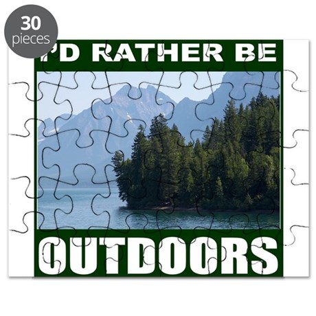 OUTDOORS/CAMPING/HIKING Puzzle
