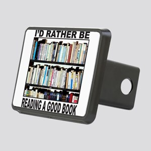 BOOK LOVER Rectangular Hitch Cover