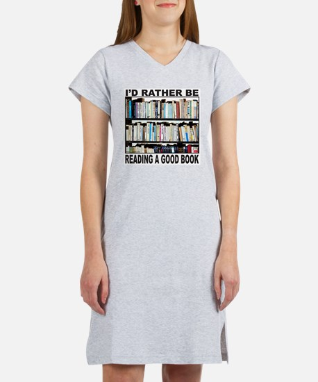 BOOK LOVER Women's Nightshirt