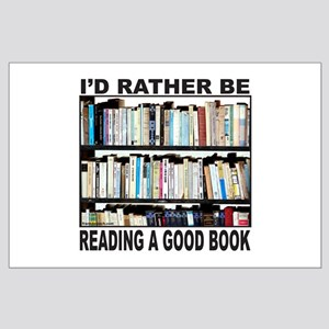 BOOK LOVER Large Poster