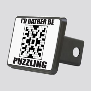 CROSSWORD Rectangular Hitch Cover