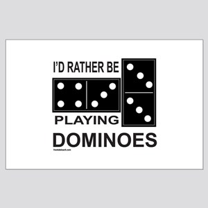DOMINO Large Poster