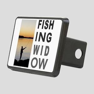 FISHING WIDOW Rectangular Hitch Cover