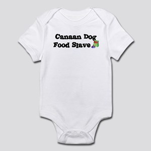 Canaan Dog FOOD SLAVE Infant Bodysuit
