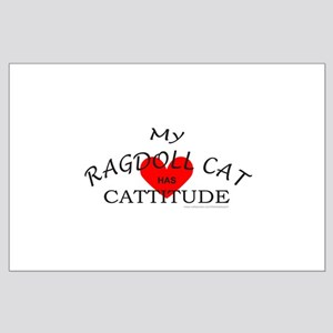 RAGDOLL CAT Large Poster