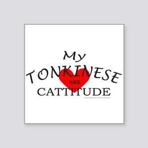 "TONKINESE Square Sticker 3"" x 3"""