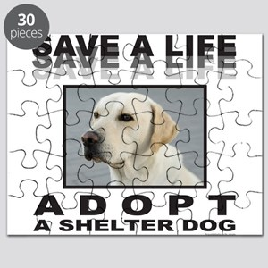 ADOPT A SHELTER DOG Puzzle