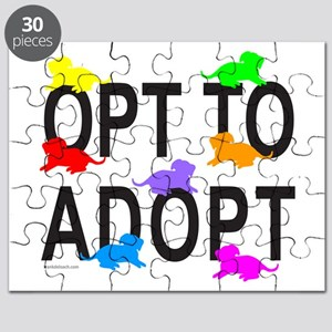 OPT TO ADOPT A DOG Puzzle