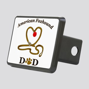 AmericanFoxhoundDad Rectangular Hitch Cover