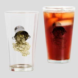 BucketOfRiches081309 Drinking Glass