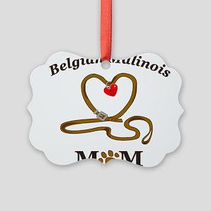 BelgianMalinoisMom Picture Ornament