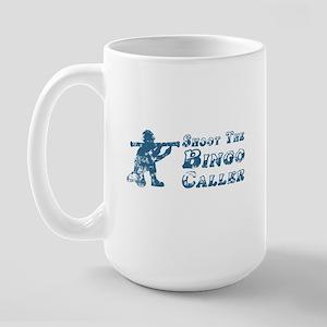 Shoot the Bingo Caller Large Mug