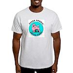 Sugar Poodle Shop Ash Grey T-Shirt