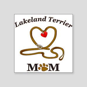 "LAKELAND TERRIER Square Sticker 3"" x 3"""