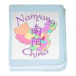 Nanyang China Map baby blanket