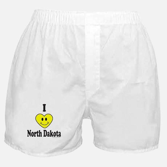 NorthDakotaCapBumperSticker.png Boxer Shorts