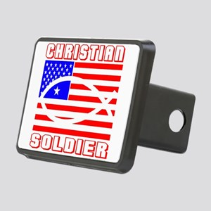 SOLDIER Rectangular Hitch Cover