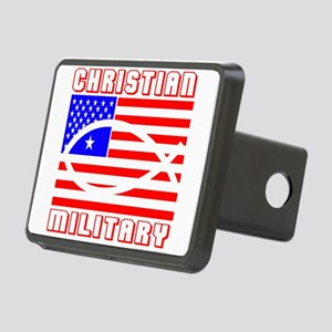 MILITARY Rectangular Hitch Cover