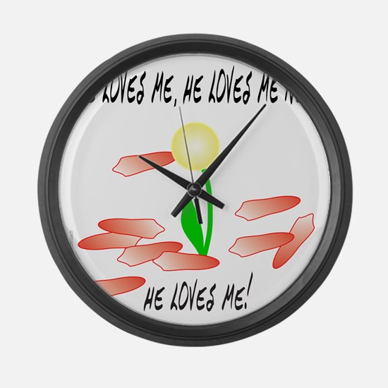 VALENTINE'S DAY Large Wall Clock