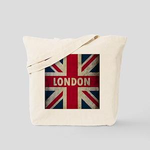 Vintage Union Jack Tote Bag