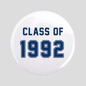 Class Of 1992 Blue Button