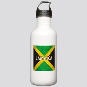 Jamaica Grunge Flag Stainless Water Bottle 1.0L