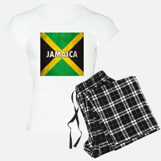 Jamaica Grunge Flag Pajamas