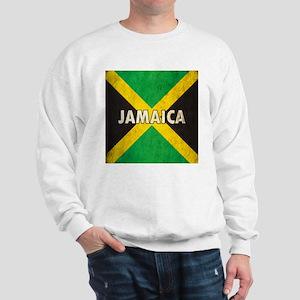 Jamaica Grunge Flag Sweatshirt