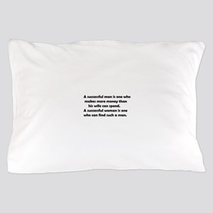 Funny success Pillow Case