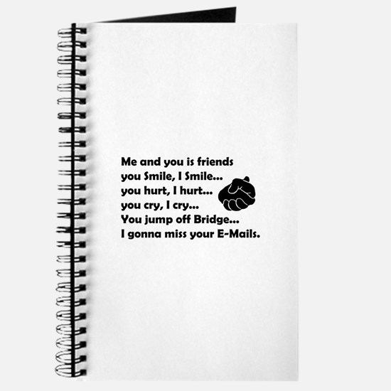 Friends funny Journal