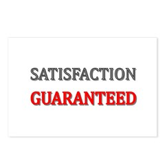 Satisfaction Guaranteed Shirt Postcards (Package o