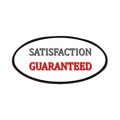 Satisfaction Guaranteed Shirt Patches