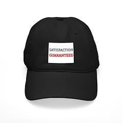 Satisfaction Guaranteed Shirt Black Cap